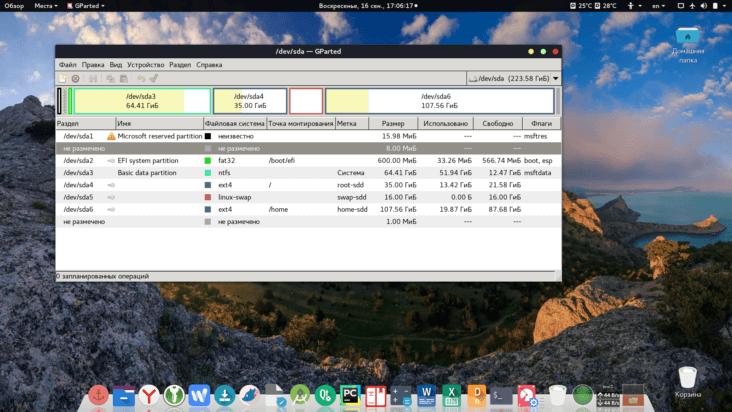 Перенос linux вместе с windows на sdd