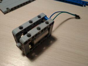 Блок двигателя Lego